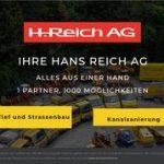 Reich, Hans AG STANDORT ALLSCHWIL, TIEF-/STRASSEBAU UND KANALSANIERUNG